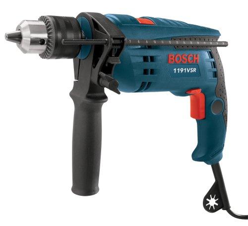 Bosch 1191VSRK 120-Volt 1/2-Inch Single-Speed Hammer Drill