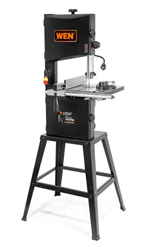 WEN 3962 Two-Speed Band Saw with Stand and Worklight, 10'