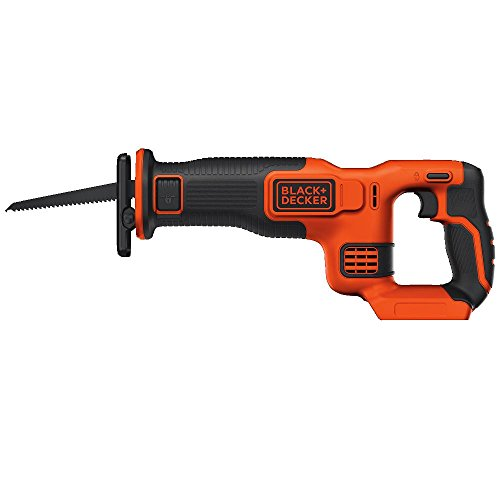 BLACK+DECKER 20V MAX Reciprocating Saw, Tool Only (BDCR20B)