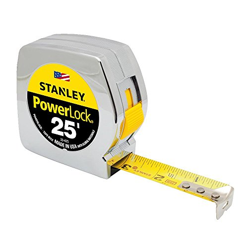 STANLEY Tape Measure, Chrome, 25-Foot (33-425)