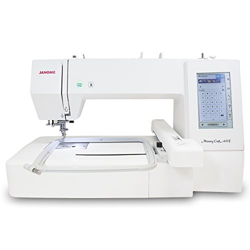Janome Memory Craft 400E Embroidery Machine