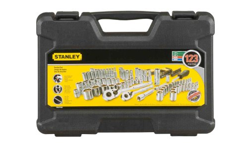 STANLEY Drive Socket Set, 123-Piece, Black (STMT71652)