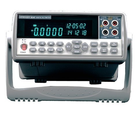 VICTOR 8245 Automatic Measurement VFD Display Bench-Type DMM Digital Multimeter 220mV~1000V 220μA~10A 22nF~220mF 220Ω~22MΩ 20Hz~2MHz