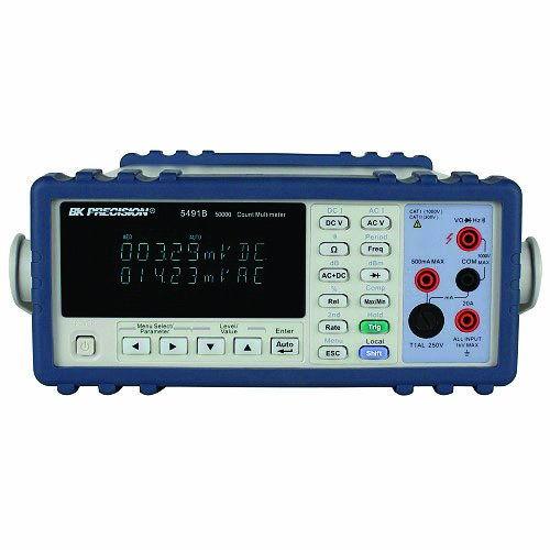 B&K Precision True RMS Bench Digital Multimeter, 50000 Count with a NIST-Traceabl