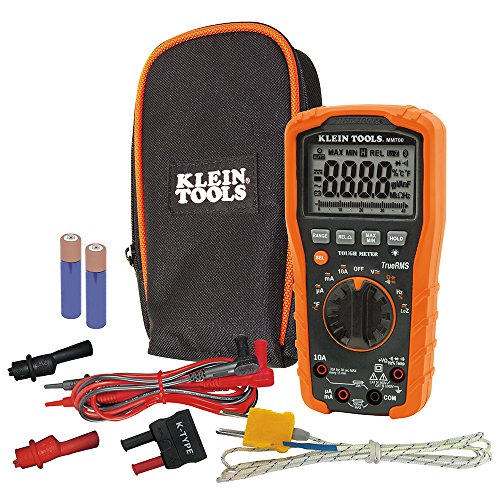 Klein Tools MM700 Multimeter, Electrical Tester is Autoranging, for Current, Impedance, Temperature, Capacitance, Frequency, and More